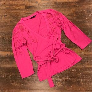Oilily ballet wrap shirt - Small